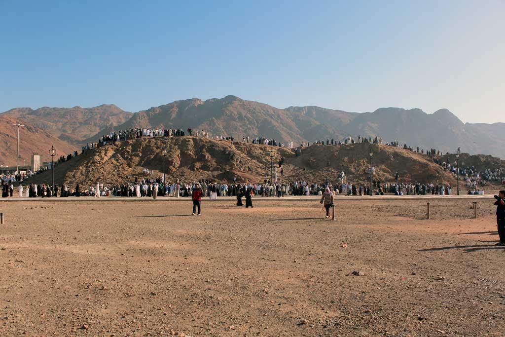 Uhud Dağı ve Uhud Savaşı'nın Yapıldığı Yer