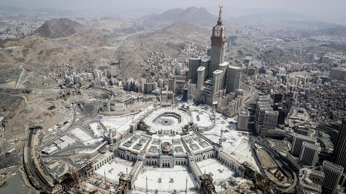 Harem - .Zemzem Tower - Mekke - Suudi Arabistan