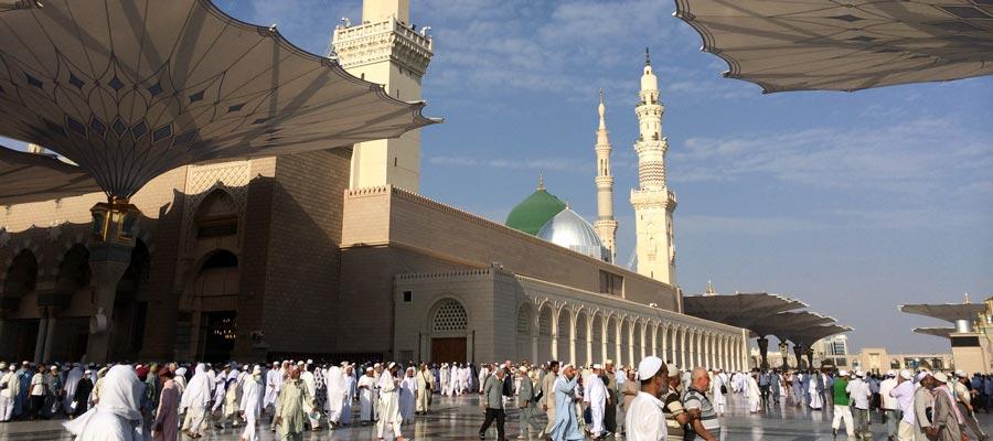 Yeşil Kubbe - Ravza - Mescid-i Nebevi - Suudi Arabistan
